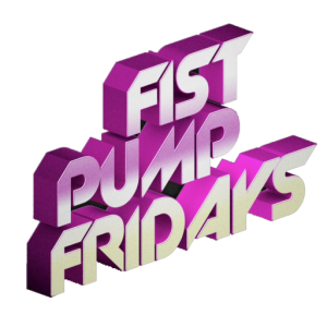 Fist Pump Fridays Footer Logo